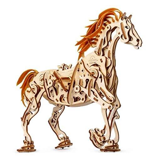 S.T.E.A.M. Line Toys UGears Models 3-D Wooden Puzzle - Mechanical Horse Mechanoid