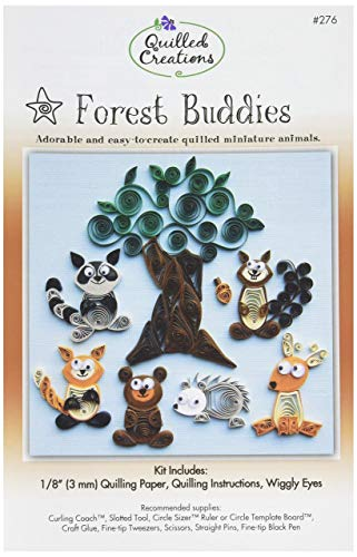 Quilled Creations Forest Buddies Quilling Kit