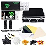 Dragonhawk Complete Tattoo Kit with Case, Beginner