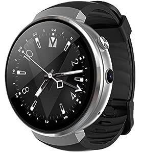 LEMFO LEM7 - Android 7.0 4G LTE Smartwatch, Reloj teléfono cámara de 2MP, MT6737 16GB ROM, traductor Incorporado, Banco de energía, Bluetooth/GPS / ...
