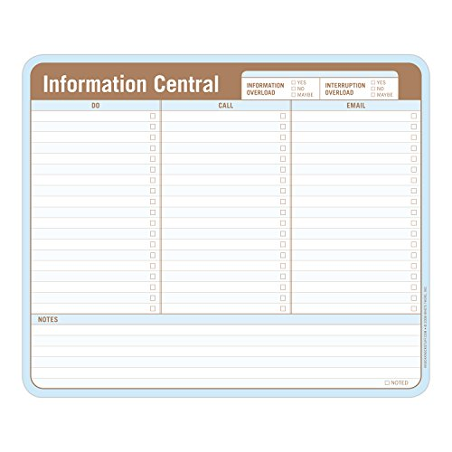 Knock Knock Information Central Paper Mousepad by Knock Knock