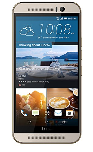 HTC One M9 Unlocked GSM 4G LTE 20MP Camera Smartphone