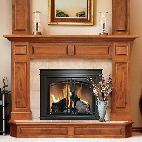 Pleasant Hearth Fn 5700 Fenwick Fireplace Glass Door Oil Rubbed Bronze