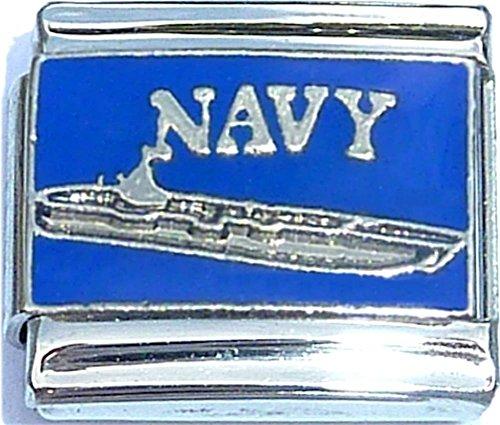 - Navy Italian Charm