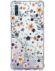Oihxse Transparente Silicona Funda Compatible con Samsung Galaxy S8 Plus Carcasa Ultra-Delgado Suave TPU Gel Airbag Esquinas Anti Rasguños Lindo Protector Case Bumper(A13)