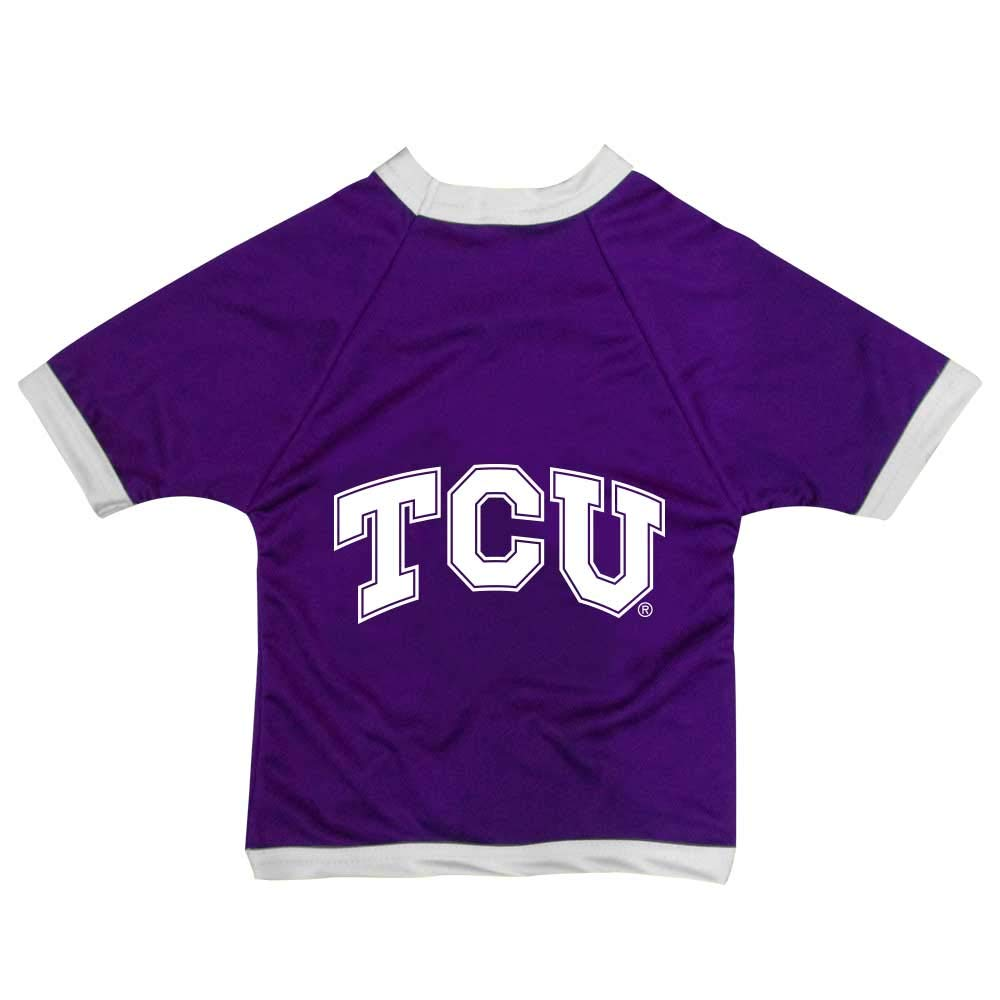 NCAA TCU Horned Frogs Athletic Mesh Dog Jersey