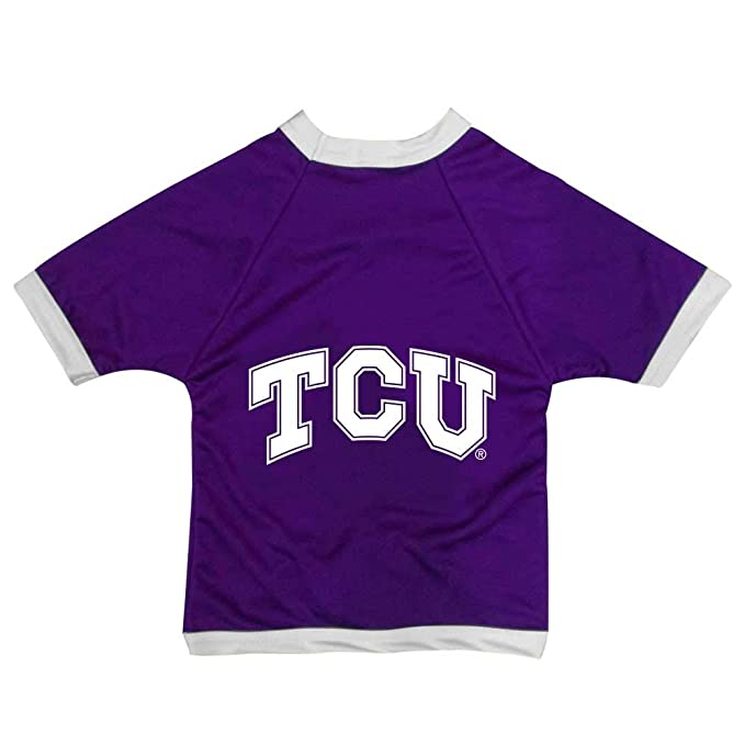 innovative design 7e573 e7223 NCAA TCU Horned Frogs Athletic Mesh Dog Jersey