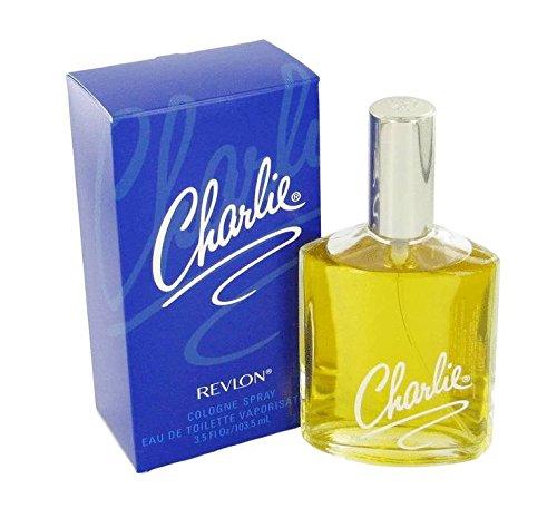 Vintage Old Version Charlie Perfume For Women EDT Spray Cologne 3.5 oz New In Classic (Revlon Bottle Spray)
