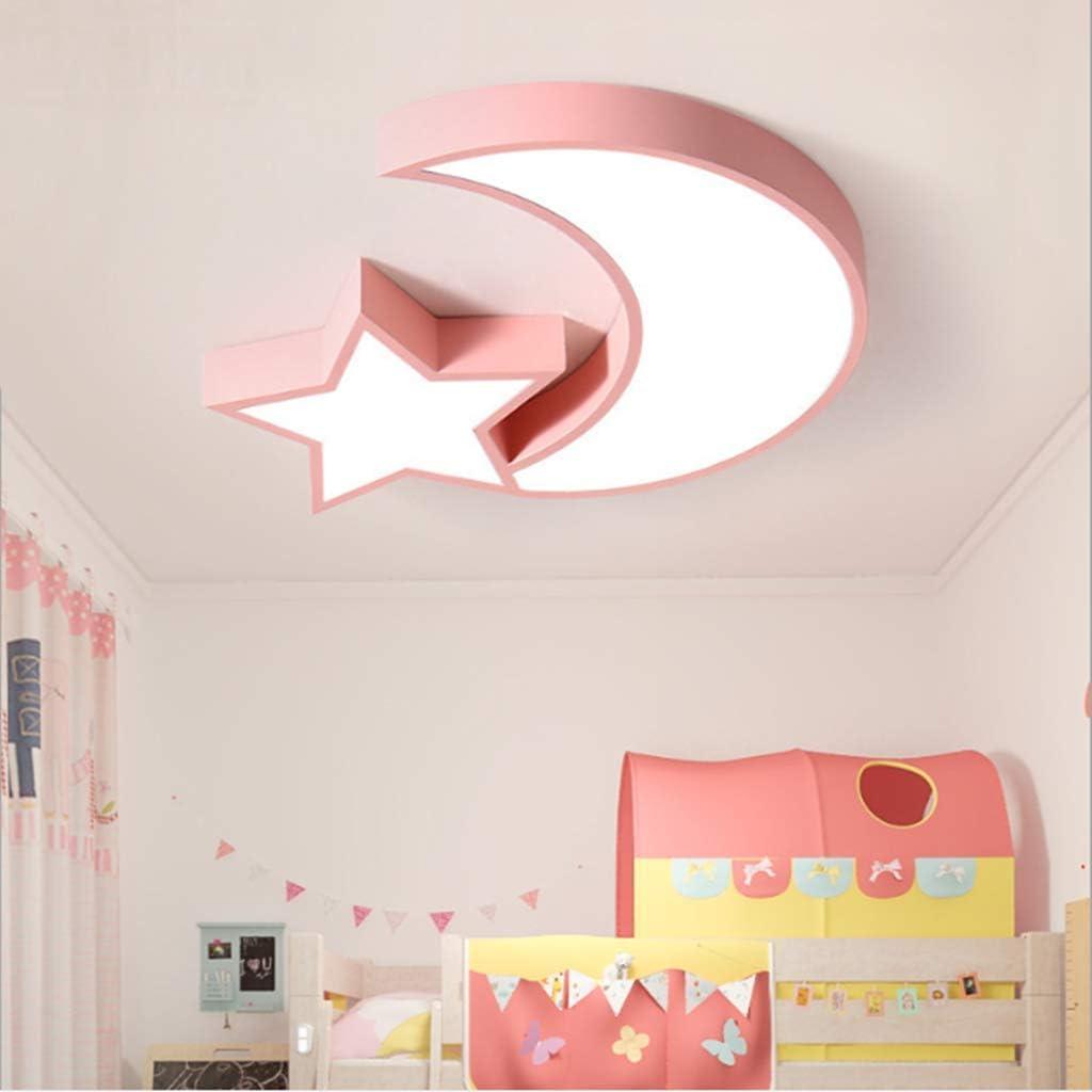 Plafonnier à LED réglable avec télécommande Moon pour enfants avec lampe de chambre à coucher - 60 cm - Gris 10 10 9