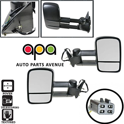 tow mirrors for 1990 chevy - 1