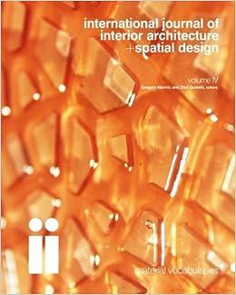 international journal of interior architecture spatial design
