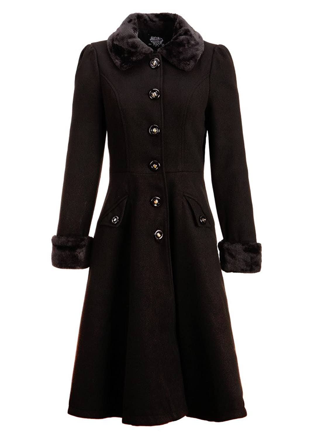 History of 1920s Coats, Furs and Capes Vintage Dress Coat Winter Jacket $89.90 AT vintagedancer.com