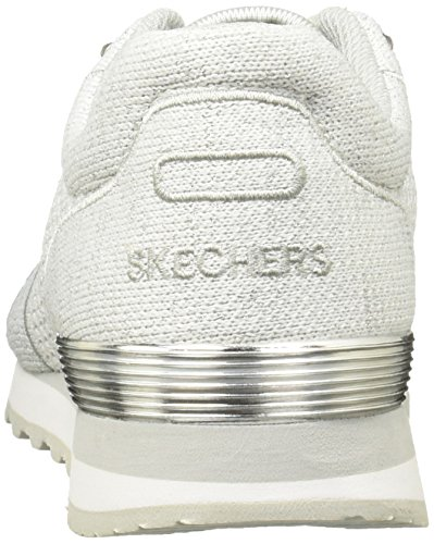 Flyers Low Skechers Femme OG 85 Baskets Argenté Blanc Cpqptzn