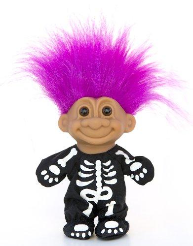My Lucky Skeleton Troll Doll - Fushia (Trolls Dolls Costumes)