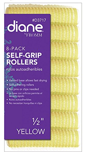 Diane D3717 Self Grip Rollers, Yellow