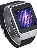 DGZ Smartwatch M9 Digital Wristwatch support SIM TF card Smart watch For Android Smartphone with Pedometer , silver-220v