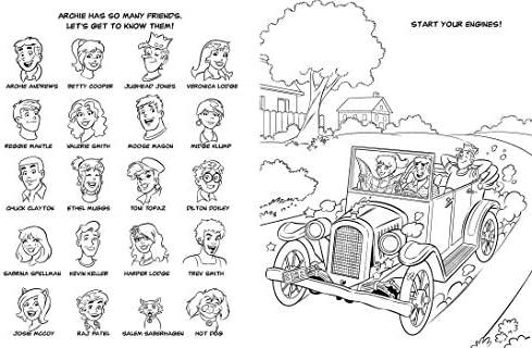 Archie S Riverdale Road Trip Coloring Activity Book Buzzpop