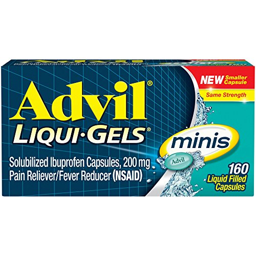 Advil-Liqui-Gels-minis-160-Count-Pain-Reliever-Fever-Reducer-Liquid-Filled-Capsule-200mg-Ibuprofen-Temporary-Pain-Relief