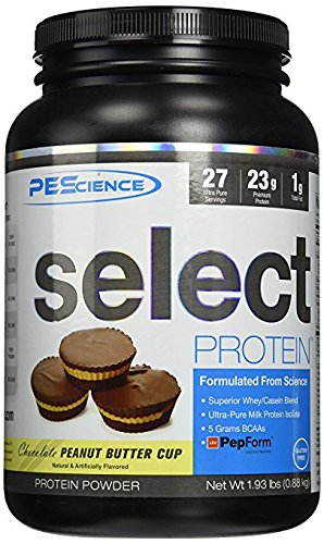 PEScience - Select Protein - Whey & Casein Protein Powder Supplement Blend - 27 Servings ( Chocolate Peanut Butter Cup)