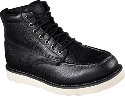 Skechers Jobbe Menns Pettus Boot Sort
