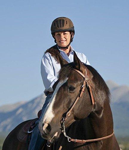 - Troxel Sierra Brown Western Equestrian Helmet SEI/ASTM Certification (Medium)