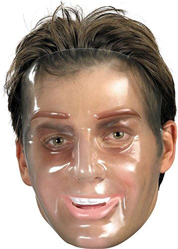 Transparent Halloween Mask (Disguise Transparent Young Man)
