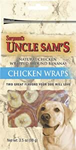 Banana Chicken Wraps Dog Treats, 3.5oz