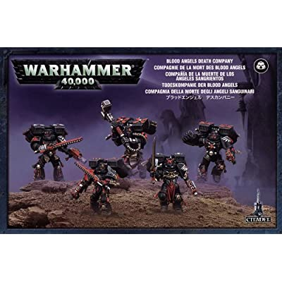 Blood Angels Death Company Space Marines Warhammer 40k: Toys & Games