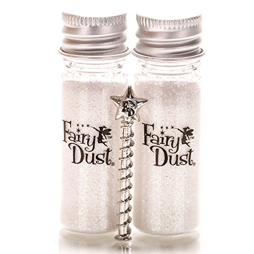 Fairy Dust Bottle Alabaster Pearl - Set of 2