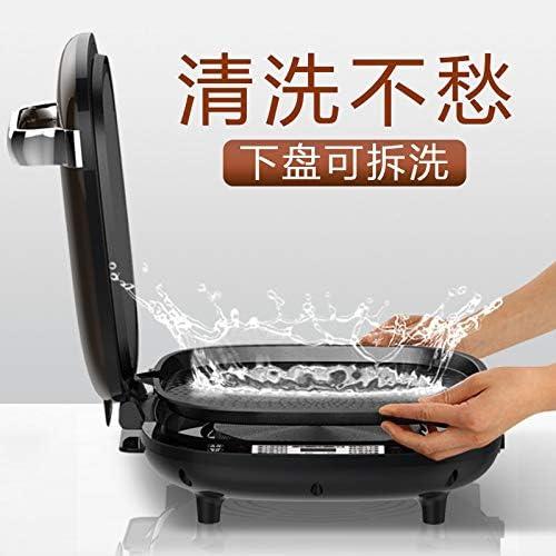 Plaque de cuisson électrique Plat De Cuisson Électrique Ménage Double Face Chauffage Amovible Et Lavable Mise Hors Tension Automatique Machine À Crêpes Artefact
