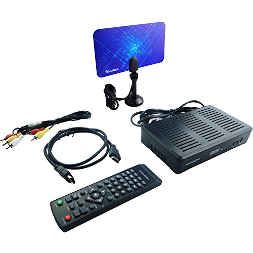 Mediasonic HOMEWORX HW180STB Digital Converter Box Bundle