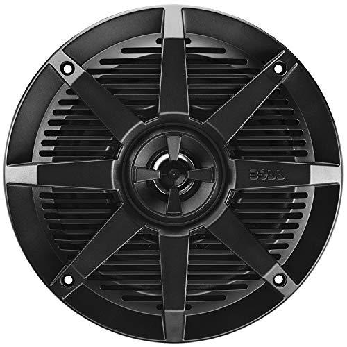 Boss Audio Systems MR62B 200 Watt Per Pair, 6.5 Inch, Full Range, 2 Way Weatherproof Marine Speakers Sold in Pairs
