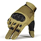 Men's Army Military Combat Assault Tactical Gloves Outdoor Gloves for Motorcycle Riding Camping