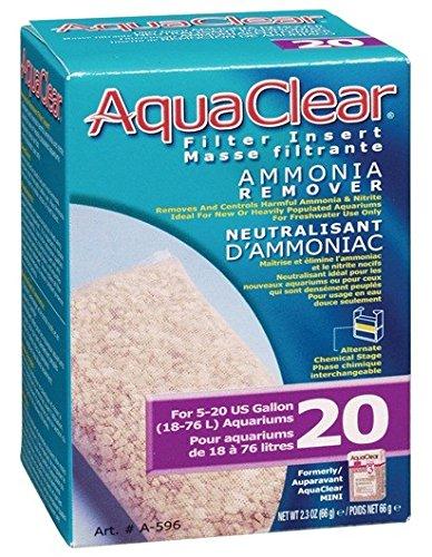 AquaClear 20 Ammonia Remover, 2.1 Ounce