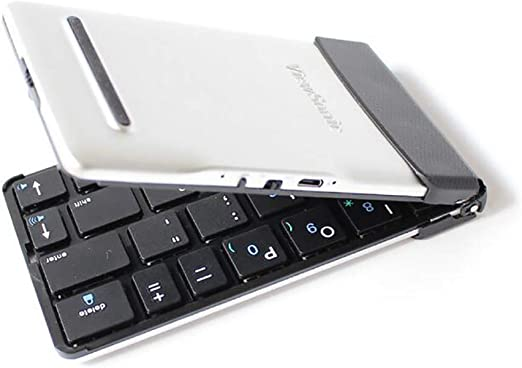 SHANGXIAN Teclado Bluetooth Plegable,Ultra-Thin Portable Mini ...