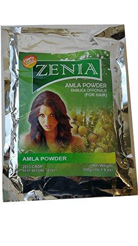 Zenia Amla Powder Amalaki (Indian Gooseberry) powder safe...