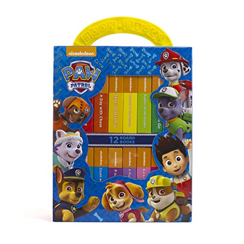 Nickelodeon - Paw Patrol My First Library Book Block Board Book Set - PI Kids -