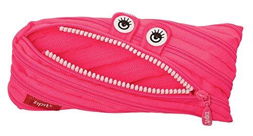 ZIPIT Monster Pencil Case, Pink