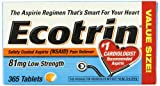 Ecotrin Low Dose 81 Mg Tablets, 365 Tablets by Ecotrin