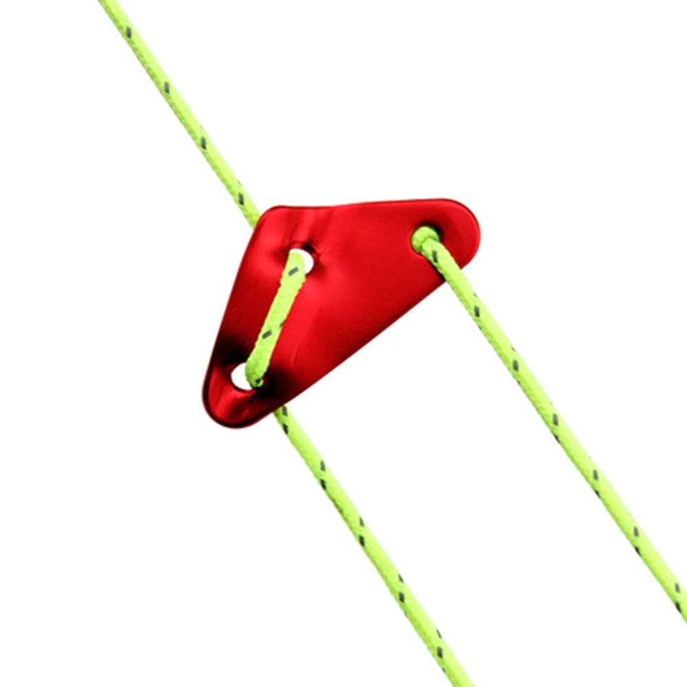 Dreieck Zeltleinenspanner Dreilochspanner Zeltzubeh/ör L/äufe 10er-set