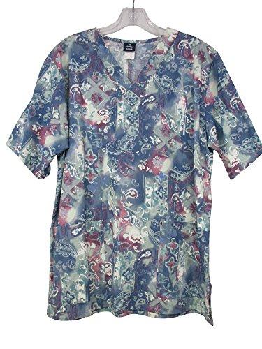 Majestic Uniform - Barco Nurses Uniform Scrub Top (S, Majestic)