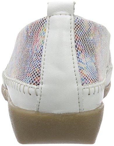 Remonte Signore D1902 Pantofola Multicolore (bianco / Multi Fiore / 90)