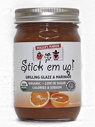 """Stick 'Em Up"" Grilling Glaze & Marinade Spicy Orange"