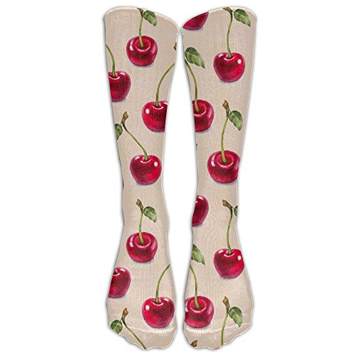 Snack Trap Accessories (Cherry Logo Cool Knee High Socks Long Athletic Sport Socks.)