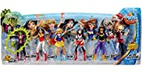 DC Super Hero Girls Dolls 6 Figure Action Collection with Beast Boy and New Outfits