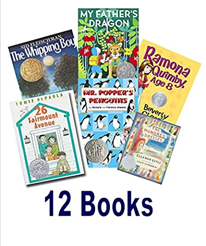 Awarded Books Grade 2 - 3: The Hundred Dresses; My Father's Dragon; 26 Fairmount Avenue ; the Whipping Boy; Ramona (My Fathers Dragon Book 2)