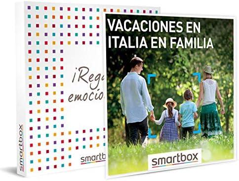 smartbox vacaciones en italia en familia
