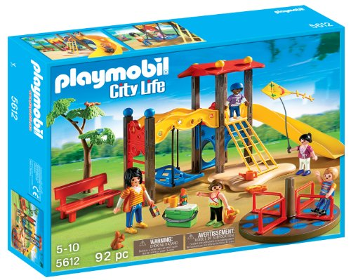 PLAYMOBIL Playground Set - Park Stores Street Main City
