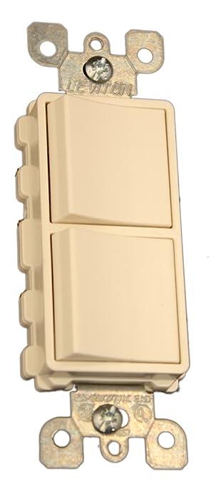 Leviton 5641 t 15 amp 120277 volt decora single pole 3 way ac leviton 5641 t 15 amp 120277 volt decora single pole sciox Choice Image