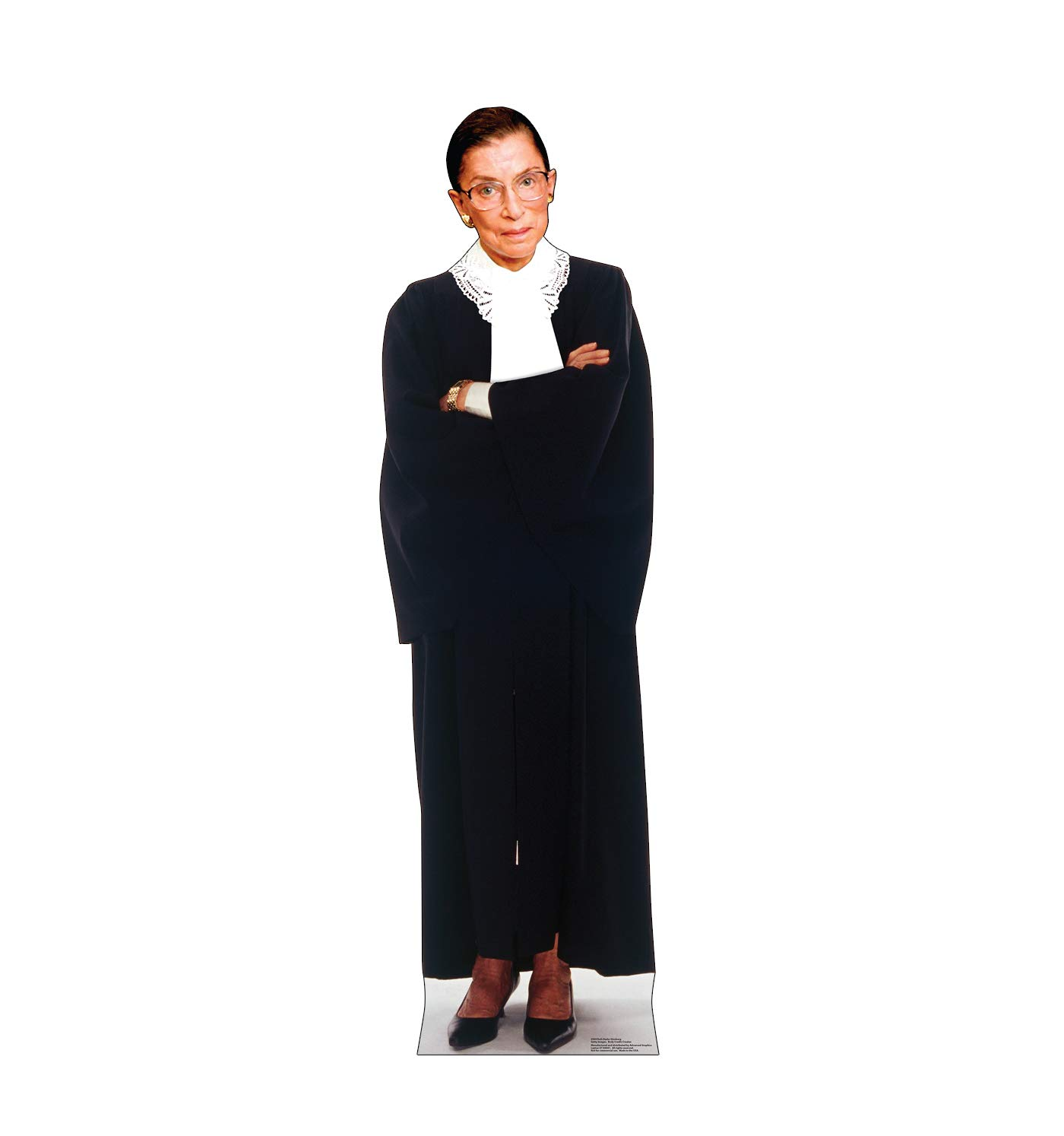 Advanced Graphics Ruth Bader Ginsburg Life Size Cardboard Cutout Standup by Cardboard People